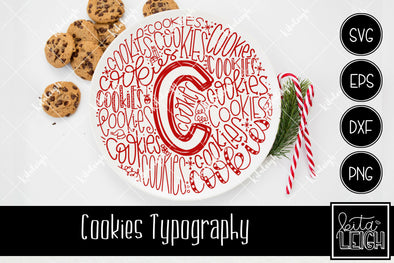 Christmas Cookies Typography