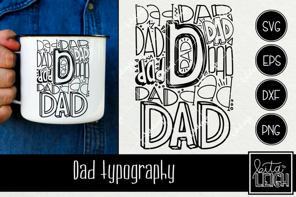 Dad Typography