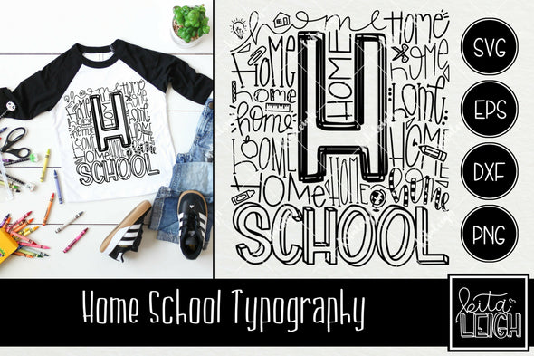Home School Typography