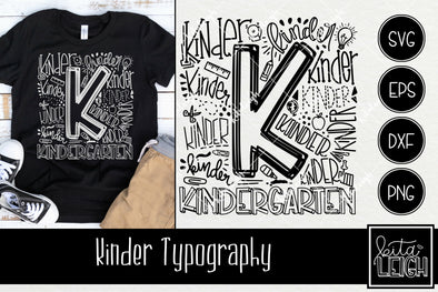 Kinder Typography