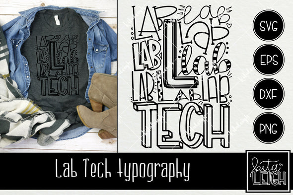 Lab Tech Typography