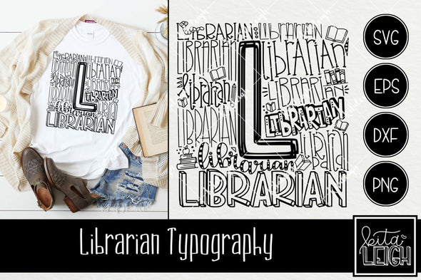 Librarian Typography