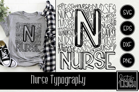 Nurse Typography