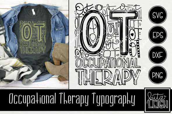 Occupational Therapy Typography