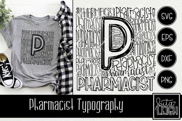 Pharmacist Typography