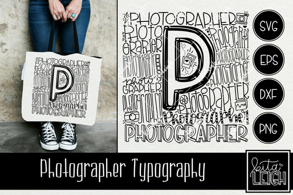 Photographer Typography