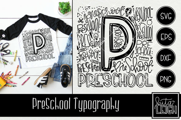 Preschool Typography