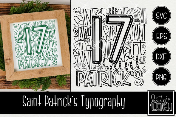 Saint Patrick's Day Typography
