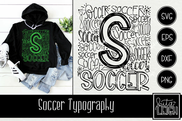 Soccer Typography