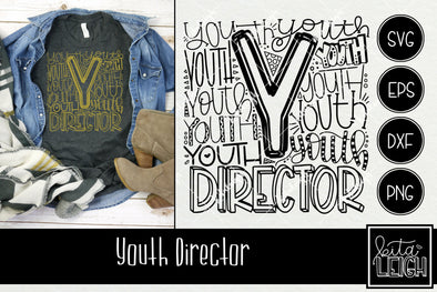 Youth Director Typography