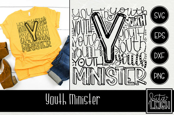 Youth Minister Typography