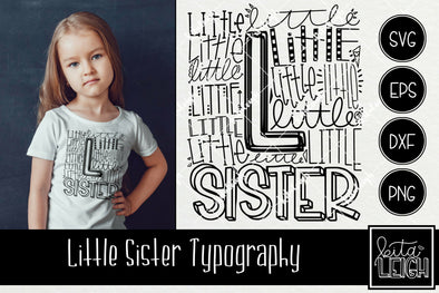 Little Sister Typography