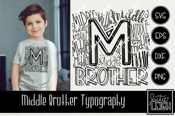 Middle Brother Typography
