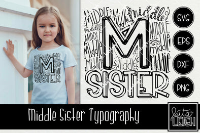 Middle Sister Typography