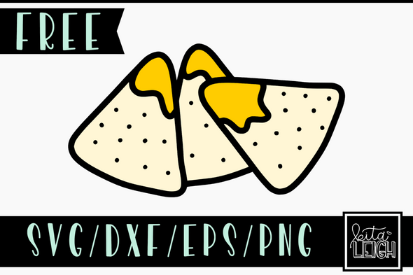 FREE Nacho SVG Cut File