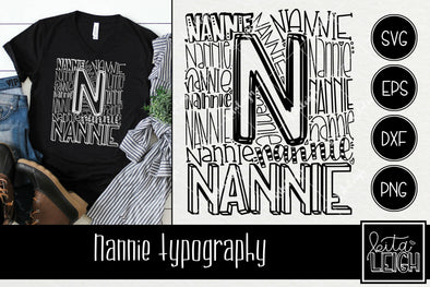 Nannie Typography
