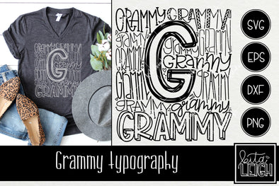 Grammy Typography