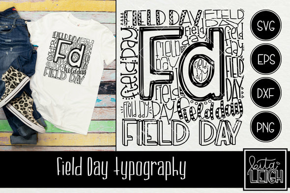 Field Day FD Typography