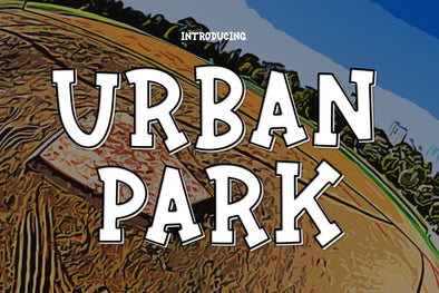 Urban Park a Fun Sports Font
