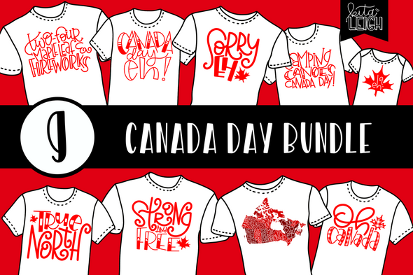 Canada Day Bundle SVG Bundle