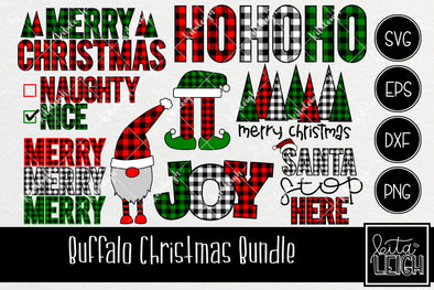 Buffalo Plaid Christmas Bundle