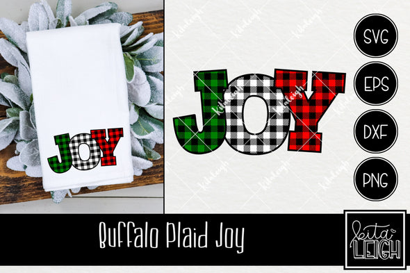 Buffalo Joy Christmas SVG