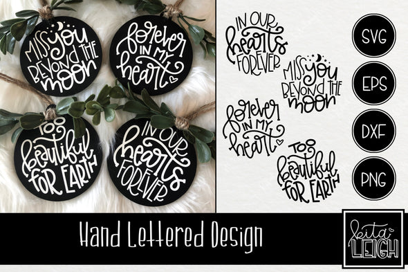 Memory Hand Lettered Rounds Bundle