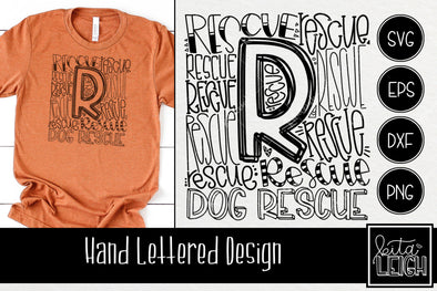 Dog Rescue Typography