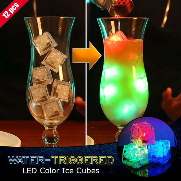 PartyLite™ Water-Triggered LED Ice Cubes(12pcs)