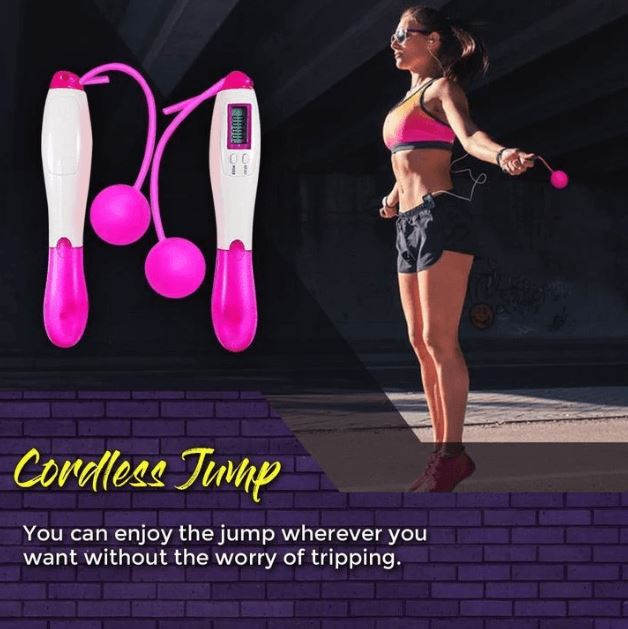 QuickBurner™ Digital Jump Rope