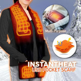 CozyScarf™ USB Heated Scarf
