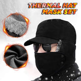 ThermaMask™ Fur Lined 2 in 1 Hat