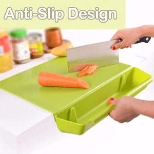 SimpleChef™ 2 in 1 Cutting Board