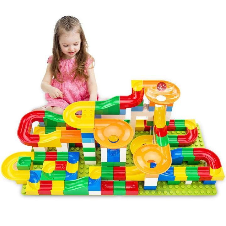 DecoToys™ Marble Race Set