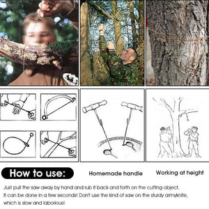 Portable Rope Chain Saw