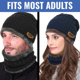 ThermaTek™ Winter Beanie & Scarf Combo Set