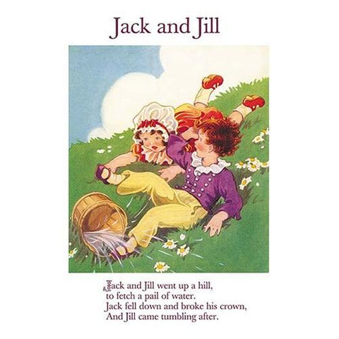 Jack and Jill (Framed Poster)