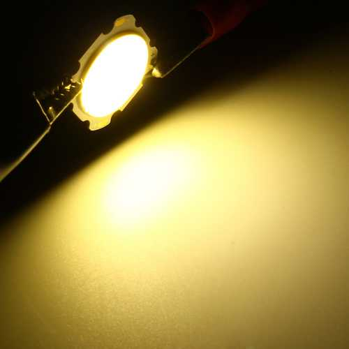 7W DIY LED COB Chip High Power Bead Light Lamp Bulb-white/Warmwhite DC20-24V