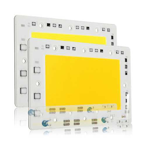 LUSTREON 150W 15000LM DIY COB LED Light Chip Bulb Bead 160x100mm For Flood Light AC110/220V