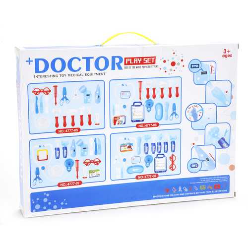 Medical Doctor Hospital Kit Playset