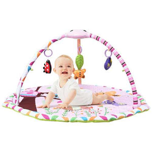 Baby Toddler Infant Gym Play Mat w/ Hanging Toys