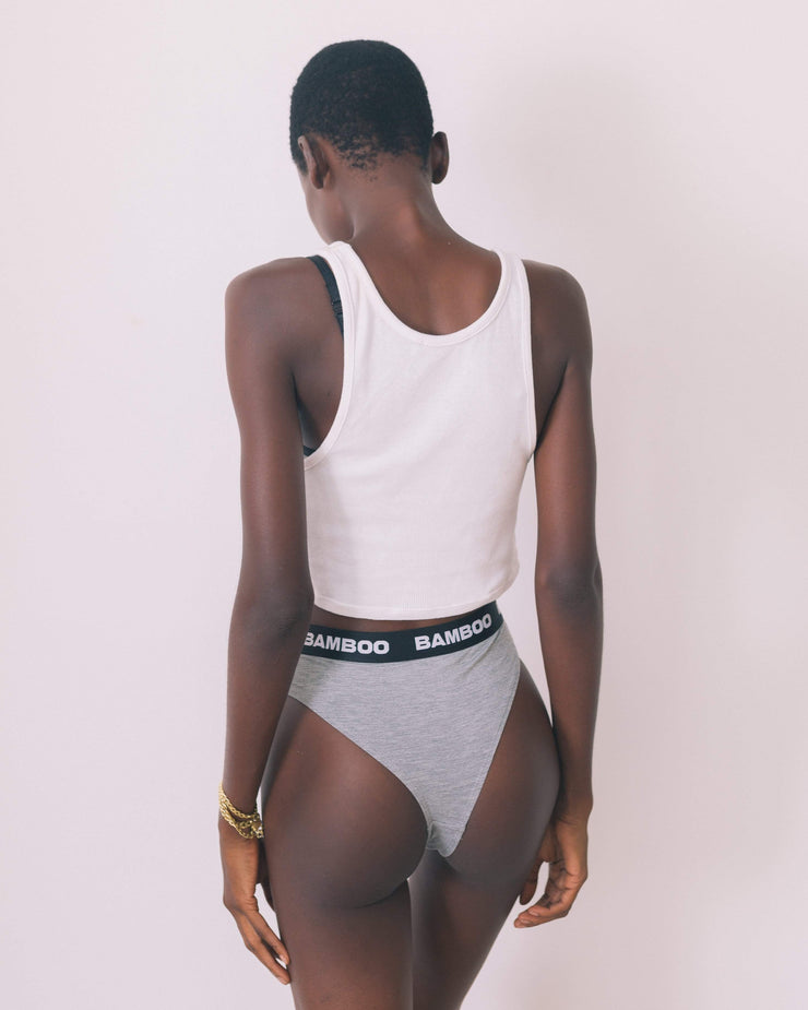 High Cut Bikini Brief - Bamboo Underwear
