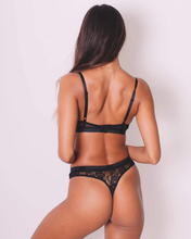 Load image into Gallery viewer, Intimate Naked Bralette & Lace Thong