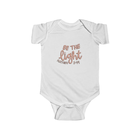 'Be the light' Onesie