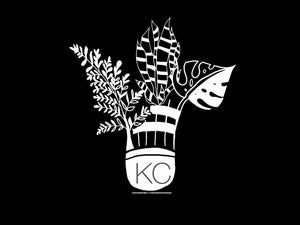 Blooming KC - Black and White