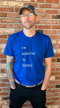 Load image into Gallery viewer, Men's Form-Fitting T-Shirt - 'I'm Addicted to Effitol' (black, navy, grey, royal)