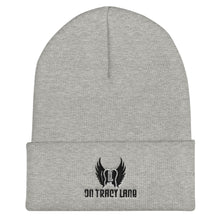 Load image into Gallery viewer, OTL Cuffed Beanie (grey, white, red)