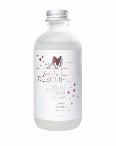 Skin Rescue Rose Hibiscus Toner Water