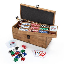 Load image into Gallery viewer, Poker & Liquor Box Set