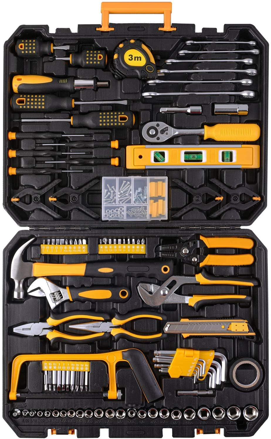 198 Piece Mechanics Tool Set